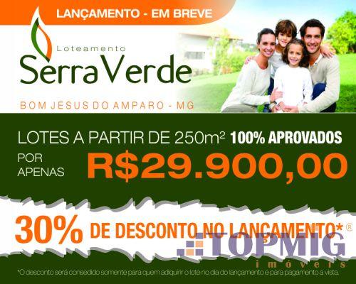 Lote   Centro (Bom Jesus Do Amparo)   R$  29.900,00