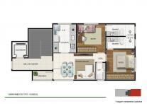 Apartamento   Floresta (Belo Horizonte)   R$  342.978,00