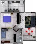 Apartamento - Silvestre - Viçosa - R$  150.000,00