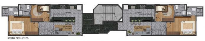 Apartamento   São Pedro (Belo Horizonte)   R$  436.568,81