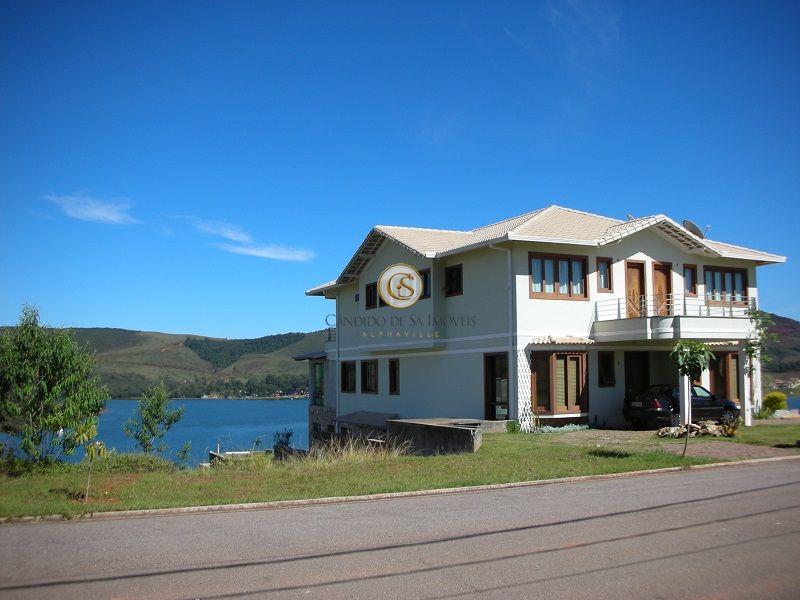 Casa com vista para lagoa - 820
